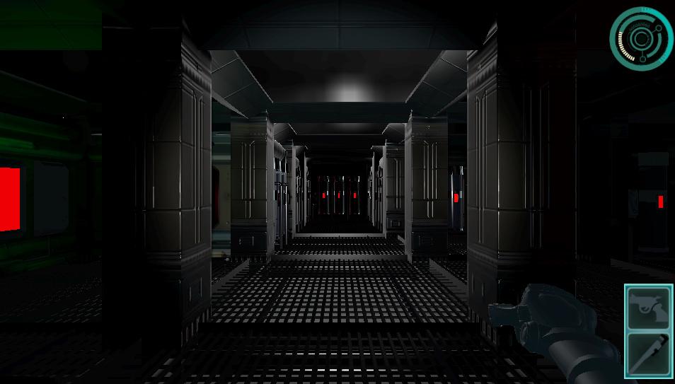 corridor (early graphics)