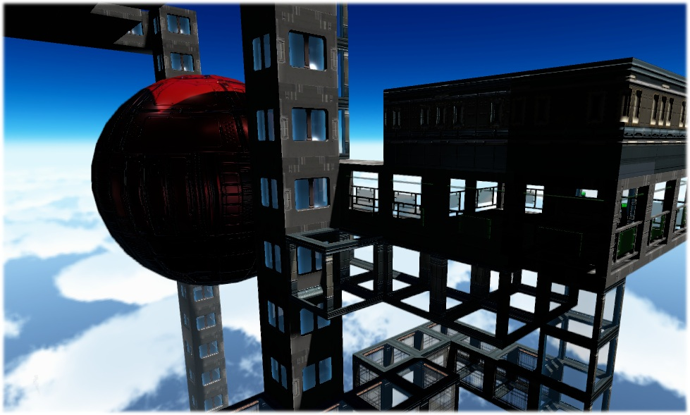 space elevator gantries